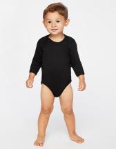 Infant Fine Jersey Long Sleeve Bodysuit